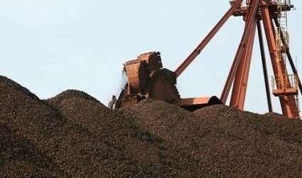 سنگ آهن هماتیت دانه بندی شده ریز