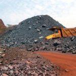 صادرات سنگ آهن خام