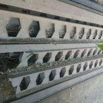 قیمت تیرآهن لانه زنبوری 18