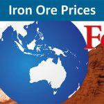 روند قیمت جهانی سنگ آهن