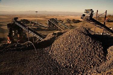 صادرات سنگ آهن هماتیت دانه بندی ریز