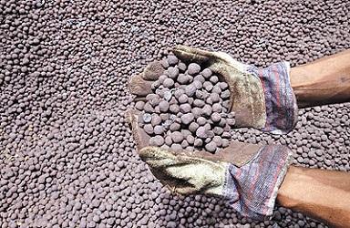 صادرات گندله سنگ آهن از بندرعباس